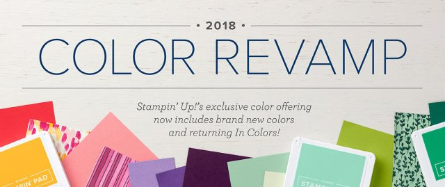 Stampin' Up! color revamp announcement header