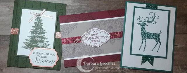 September 30th Christmas Card Stamp-A-Stack
