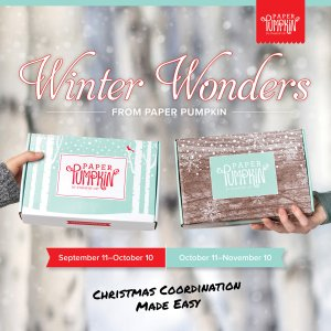Paper Pumpkin Winter Wonders